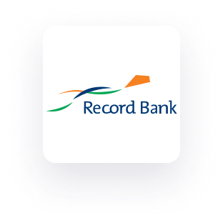 Record Bank logo