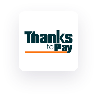 thanks to pay logo