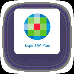 expert m plus logo