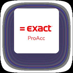 Exact proacc logo